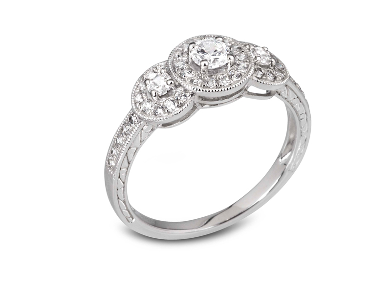 Diamond Engagement ring Hatton Garden