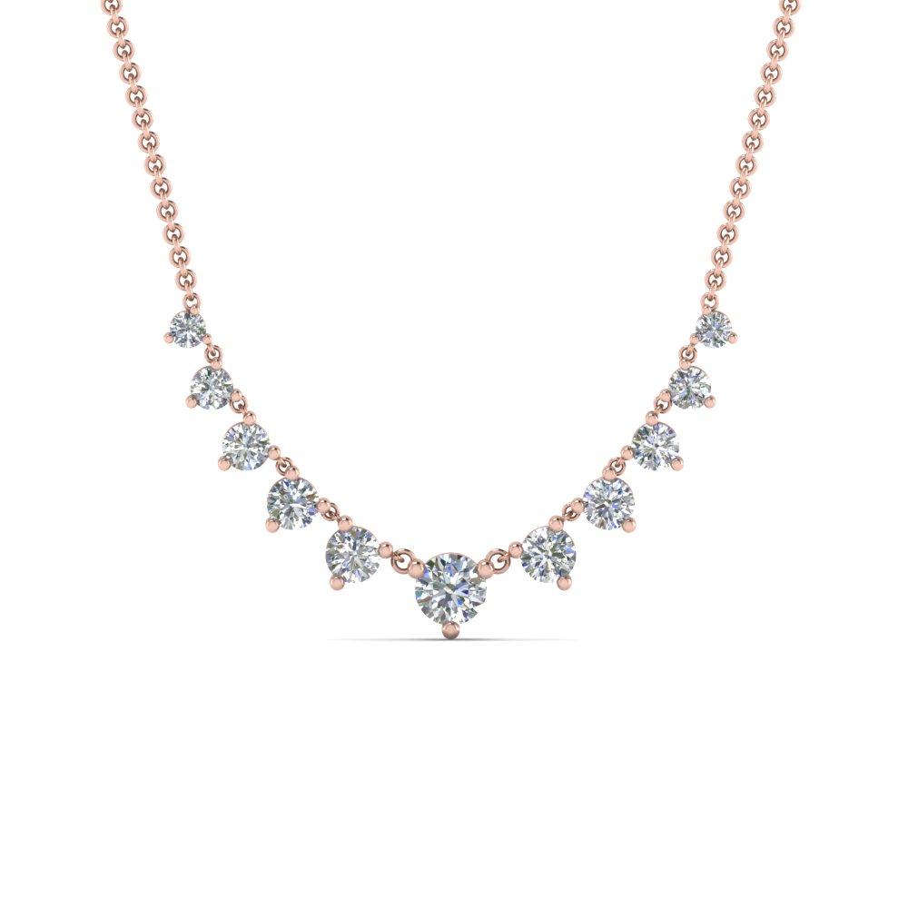 diamond neckalce london