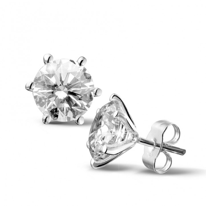 diamond stud earrings london