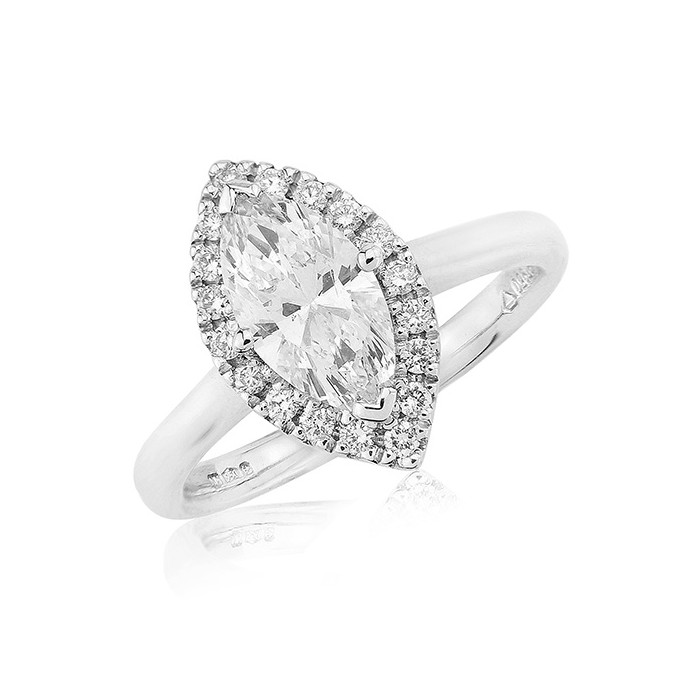 history of the marquise cut diamond