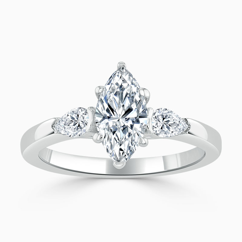 marquise cut engagement ring uk