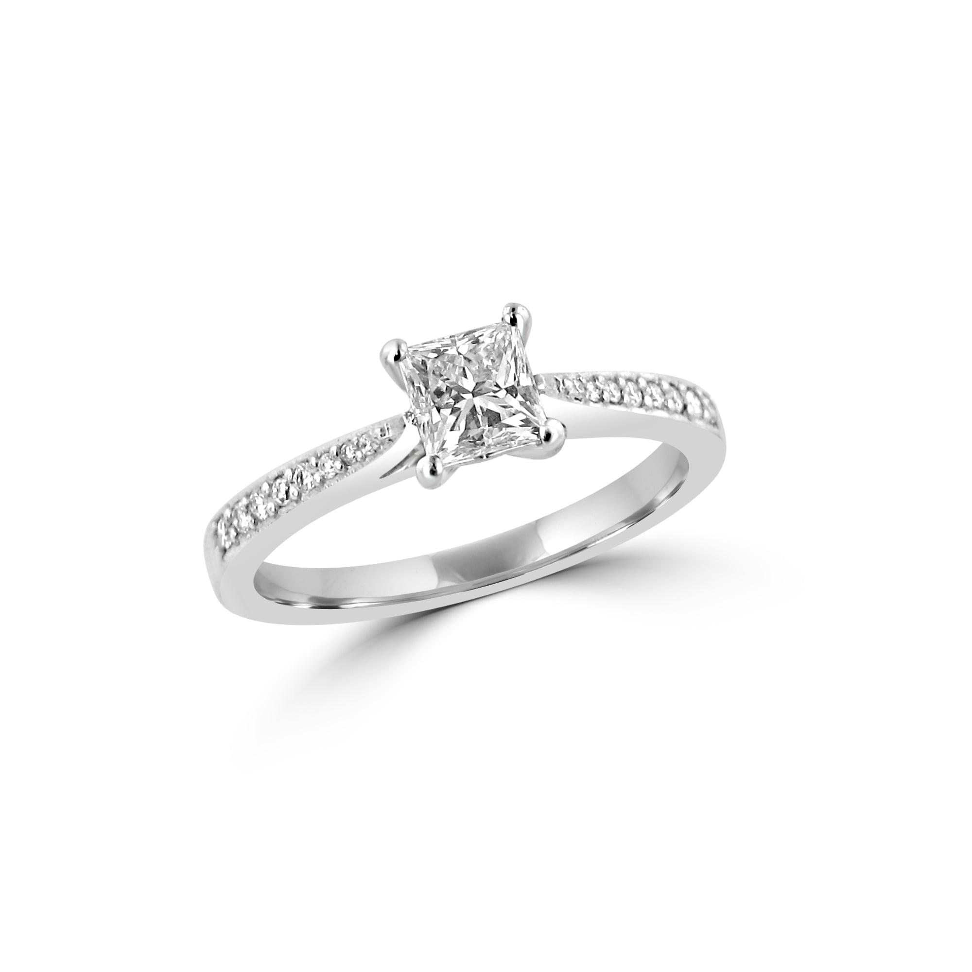 princess cut diamond engagement ring London