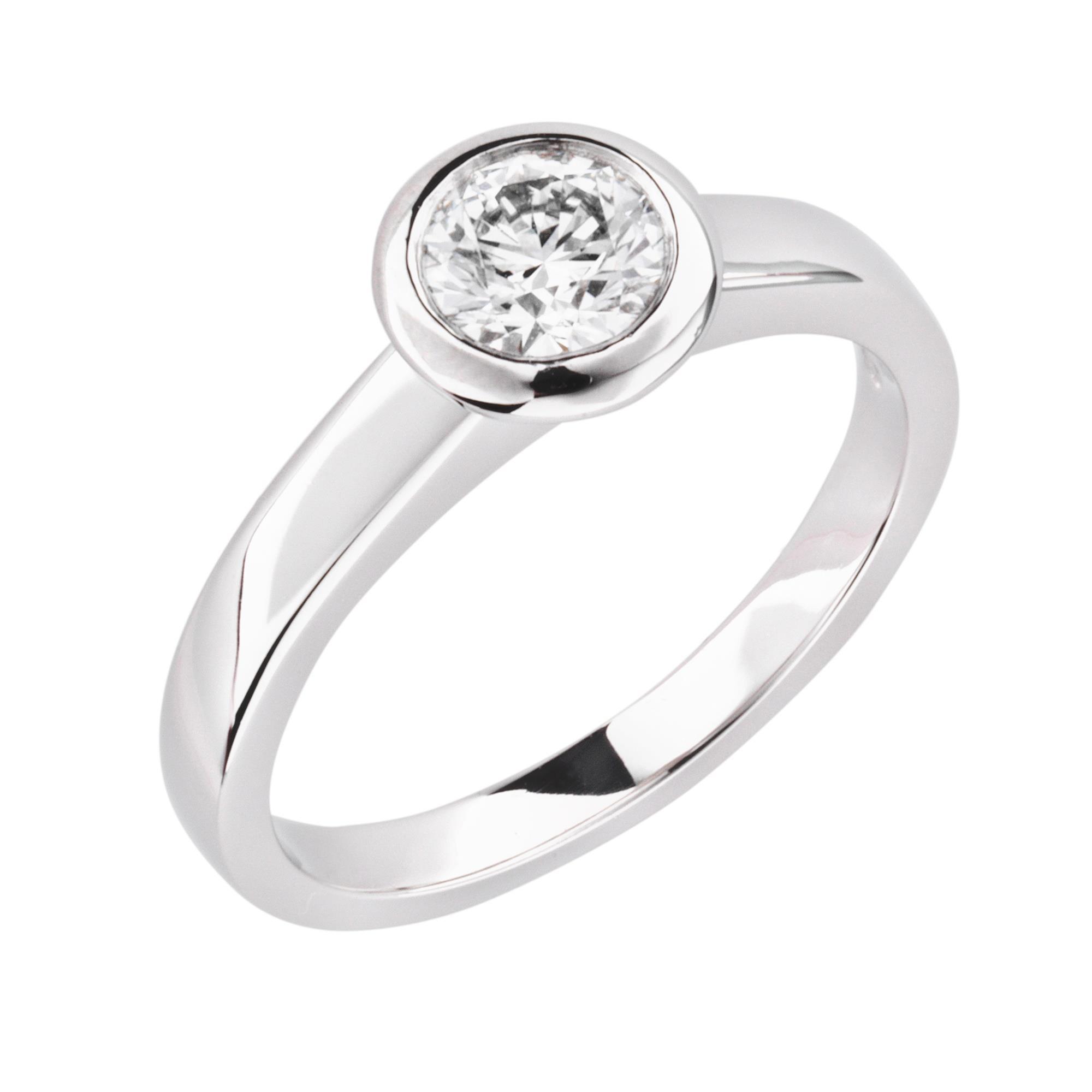 rubover diamond engagement ring london